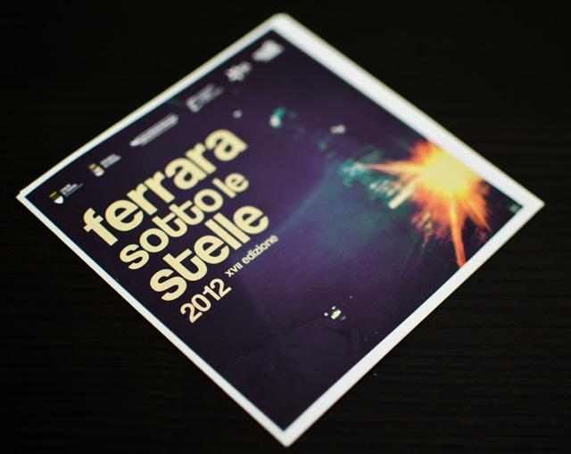 ferrara sotto le stelle 2012